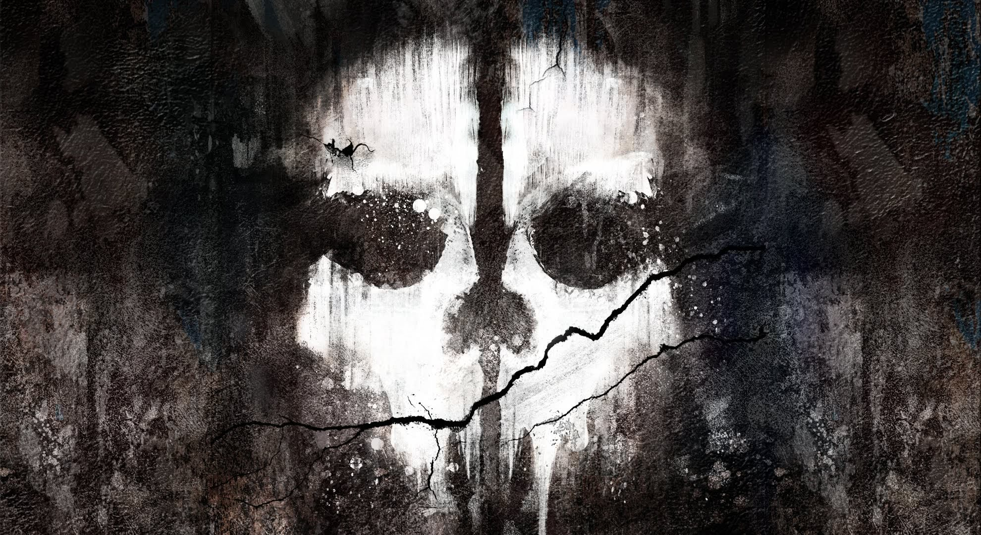 Cod ghost mask wallpaper