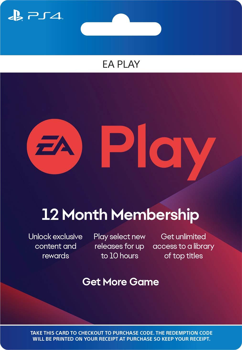 Купить EA Play (EA Access) - 12 months PS4 (USA)